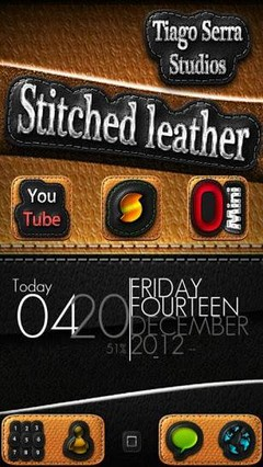 Leather GO LauncherEX Theme