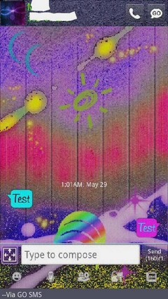 Go SMS Theme Abstract Go