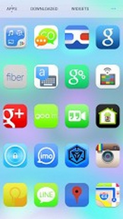 Ultimate iOS7 Apex Nova Theme v1.571