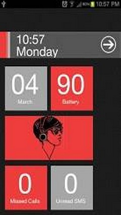 Red Theme Windows 8 Pro Locker