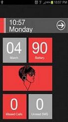 Red Theme Windows 8 Pro Locker