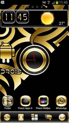 Golddroiden Lite GO Launcher