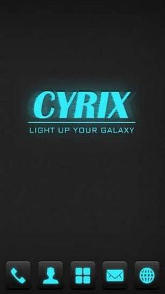 Cyrix GO Locker Theme