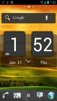 HTC Sense GO Launcher Theme