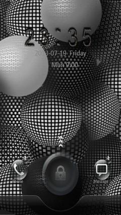 Grey Sphere Go Locker