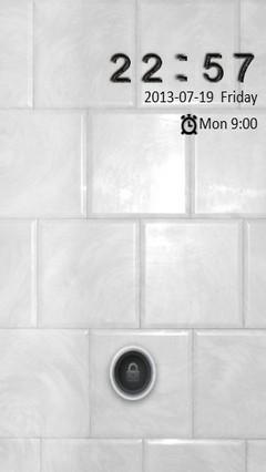 White Tile Go Locker