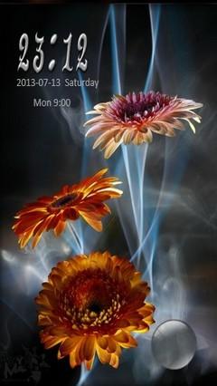 Flower Design Go Locker