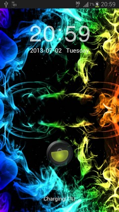 GOLocker Theme rainbow smoke