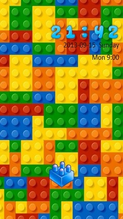 LEGO Style Go Locker