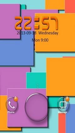Colorful Square Go Locker