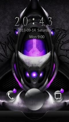 Violet Core Go Locker