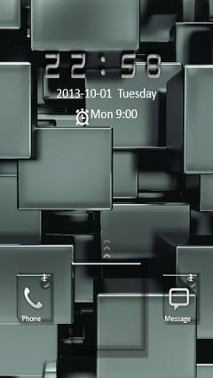 3D Cubes Go Locker