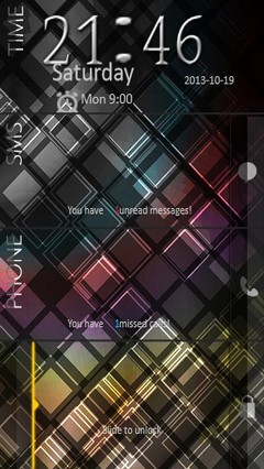 Dark Abstract Go Locker