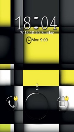 Black N Yellow Cubes Go Locker