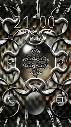 Abstract Amulet Go Locker