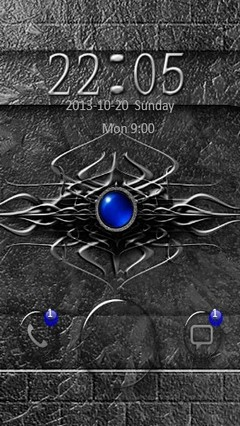 Blue Amulet Go Locker