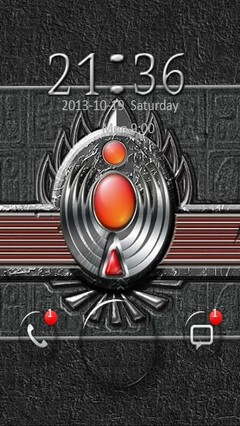 Abstract Amulet Go Locker 2