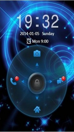 Abstract GO Locker Theme