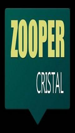 CRISTAL - Zooper Skin Theme v1.2