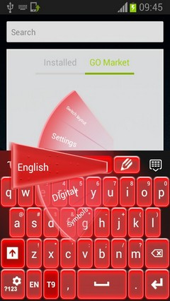 Keyboard Neon Red-release