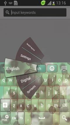 Blurry Keyboard-release
