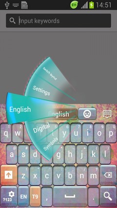 Colorful Sphere Keyboard-release