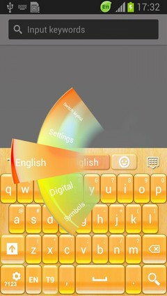 Gold Touch Keyboard-release