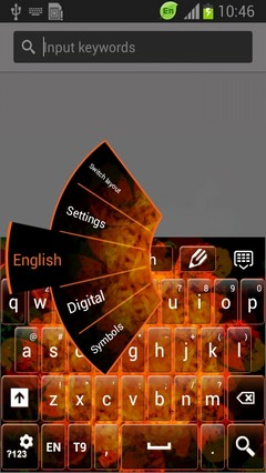 Kaleidoscope Flowers Keyboard-release