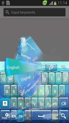 Iceberg Keyboard-release