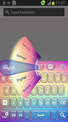 Free Colorful Keyboard-release