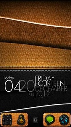 Leather - GO Launcher Theme