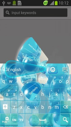 Crystal Sphere Keyboard-release