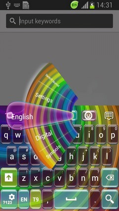 Colorful Wire Keyboard