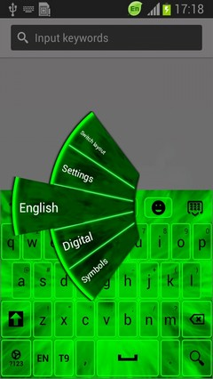 Neon Light Keyboard