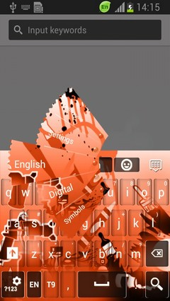 Colorful Graffiti Keyboard