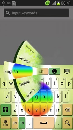 Colorful Halo Keyboard
