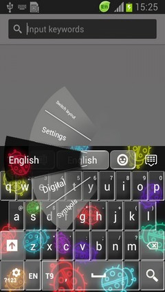 Neon Ladybug Keyboard