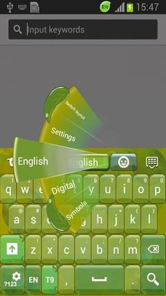 Green Leaf Keyboard
