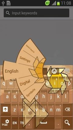 Tangram Keyboard