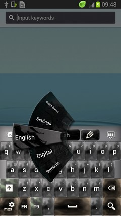 Ink Theme Keyboard