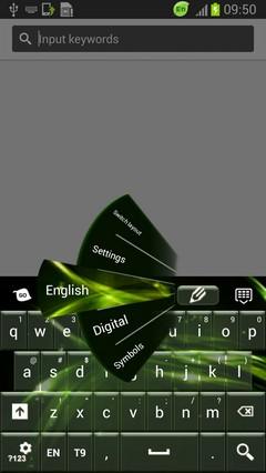Neon Keyboard Green Free
