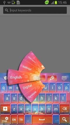 Fires Keyboard