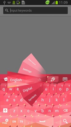 Keyboard App Pink Phone
