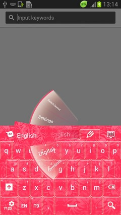 Themed Pink Keyboard