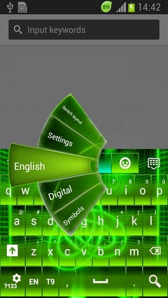 Electrify Green Keyboard