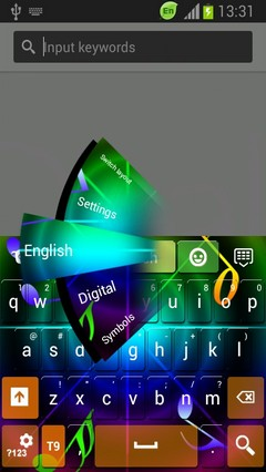 Color Sounds Keyboard