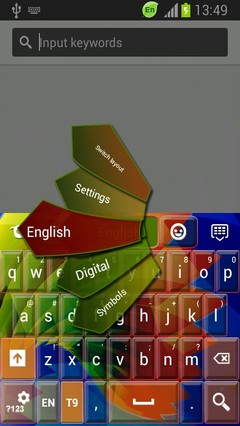 Keyboard for Galaxy Grand Duos