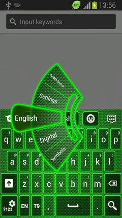 Neon Keyboard for Galaxy Y