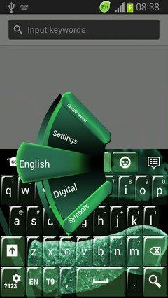 Neon Keypad for Galaxy S4 Mini