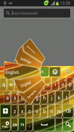 Keyboard for HTC One V